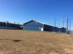 Back view of Spokane Dog Training Club outdoor training facility
