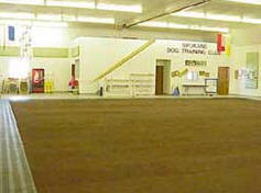 Spokane Dog Training Club indoor training facility